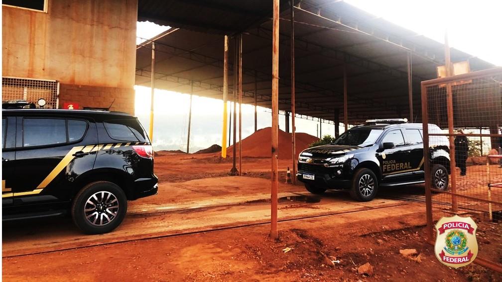 Viaturas da Polícia Federal no combate a irregularidades — Foto: Polícia Federal/Divulgação