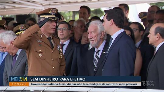 Novo comandante-geral da Polícia Militar do Paraná assume o cargo