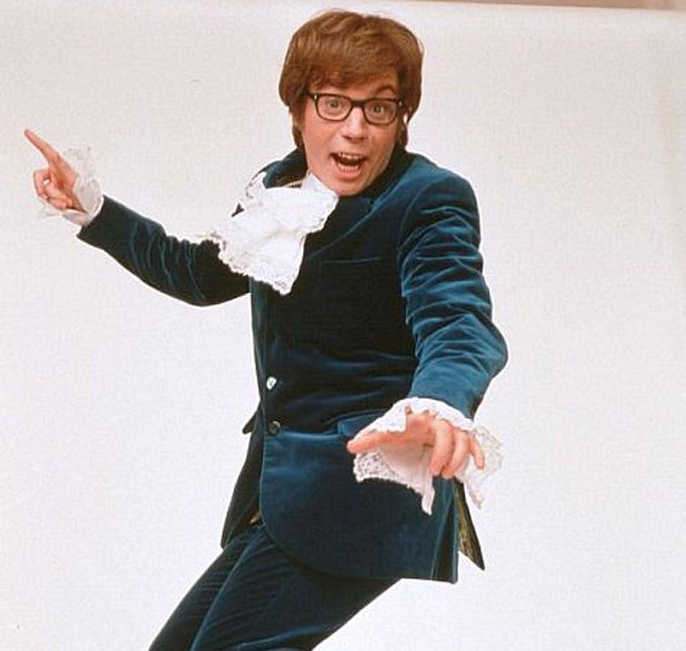 O ator canadense Mike Myers em cena de 'Austin Powers: 000 – Um agente nada discreto' (1997)  (Foto: Divulgação)