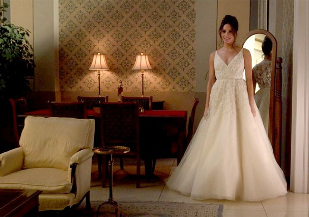 """Meghan Markle em cena de """"Suits"""" (Foto: Reprodução)"""