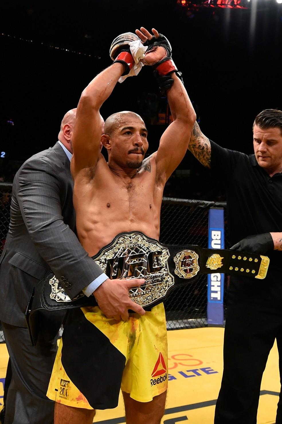 José Aldo terá chance de reconquistar cinturão peso-pena no UFC Detroit (Foto: Getty Images)