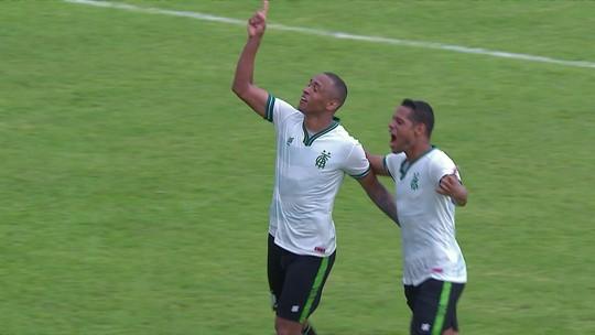 Leandro Silva comemora reestreia no América-MG com gol e mira primeira vitória no Estadual