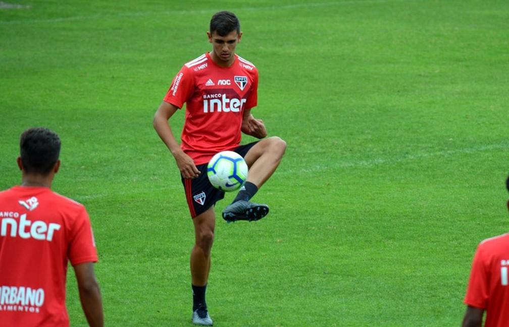 Lucas Fasson deixou o São Paulo em 2020 — Foto: Érico Leonan / saopaulofc.net