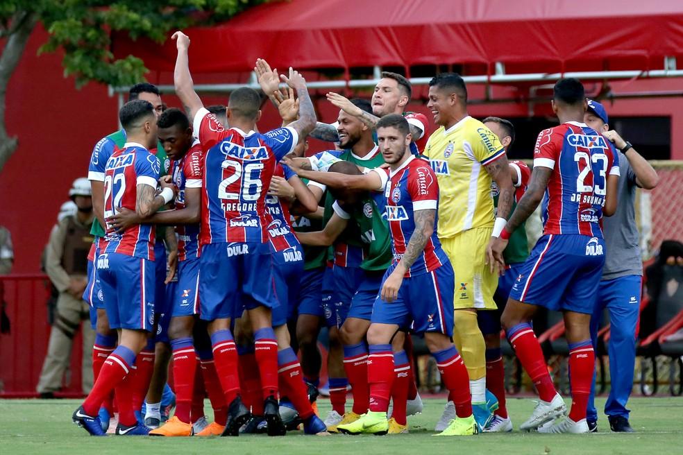 Bahia não perde para o maior rival há 12 jogos  — Foto: Felipe Oliveira/Divulgação/EC Bahia