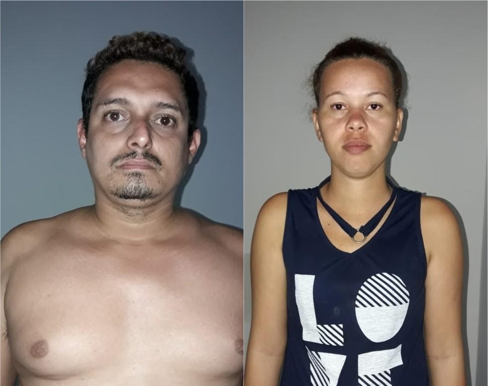 Erick Raphael dos Reis Teixeira e Ivanilde Nogueira Amaral foram encontrados no povoado Água Limpa, zona rural de São Vicente de Férrer (Foto: Divulgação/Polícia Civil)