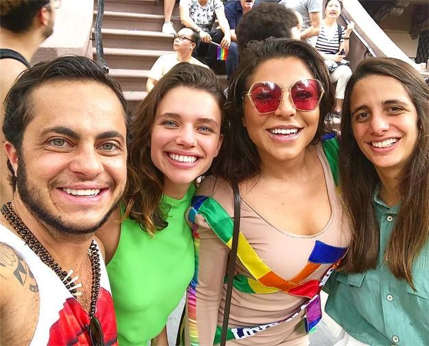 Thammy Miranda, Bruna Linzmeyer, Andressa Ferreira e Priscila Visman (Foto: Reprodução/Instagram)