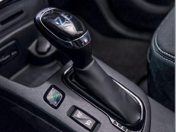 """Renault Zoe - O botão verde """"Eco"""" é a melhor  opção para poupar bateria (Foto: Bruno Guerreiro)"""
