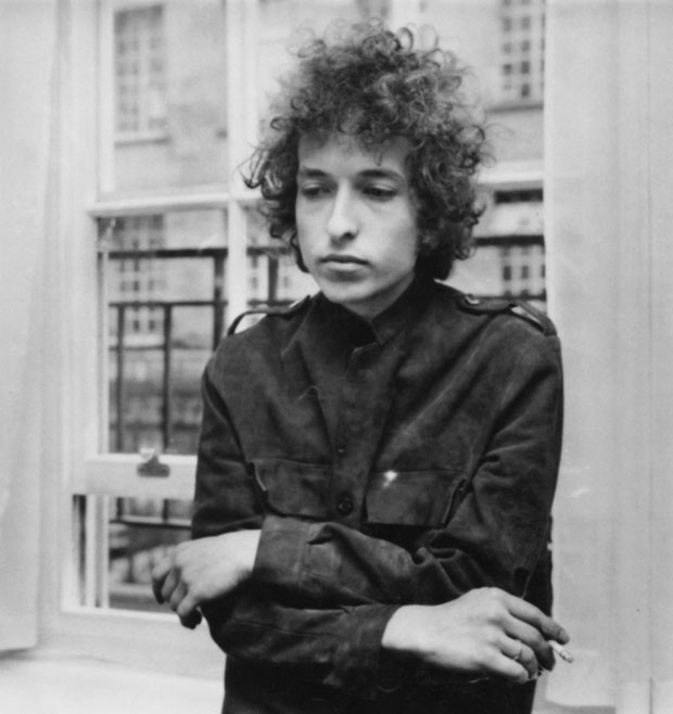 American folk pop singer Bob Dylan at a press conference in London.   (Photo by Express Newspapers/Getty Images) (Foto: Getty Images)