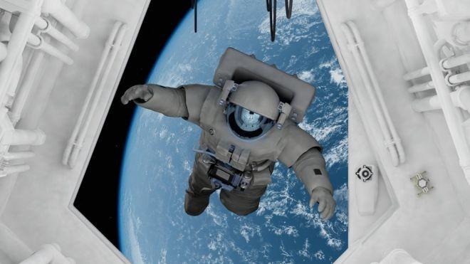 Viagens longas podem acarretar graves problemas de saúde nos astronautas, de danos aos tecidos a alto risco de incidência de câncer (Foto: Getty Images via BBC News Brasil)