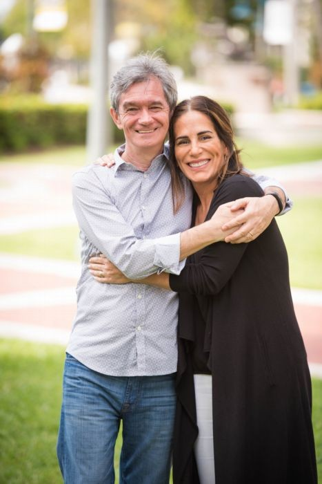 Serginho e Gloria: homenageados