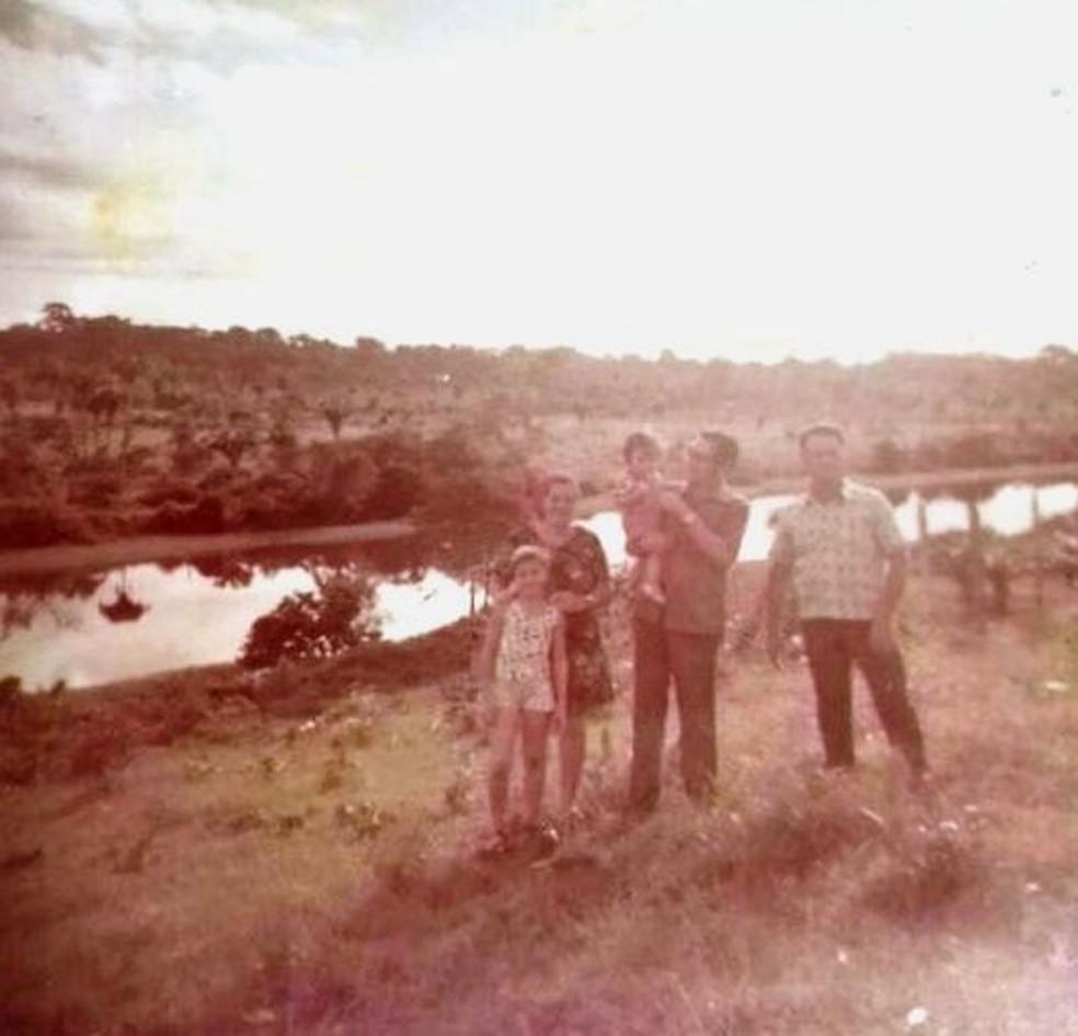 Família de Claúdia foi pioneira na cidade de  Ji-Paraná e ela conta das dificuldades enfrentadas no início (Foto: Claúdia Fonseca/Arquivo Pessoal)