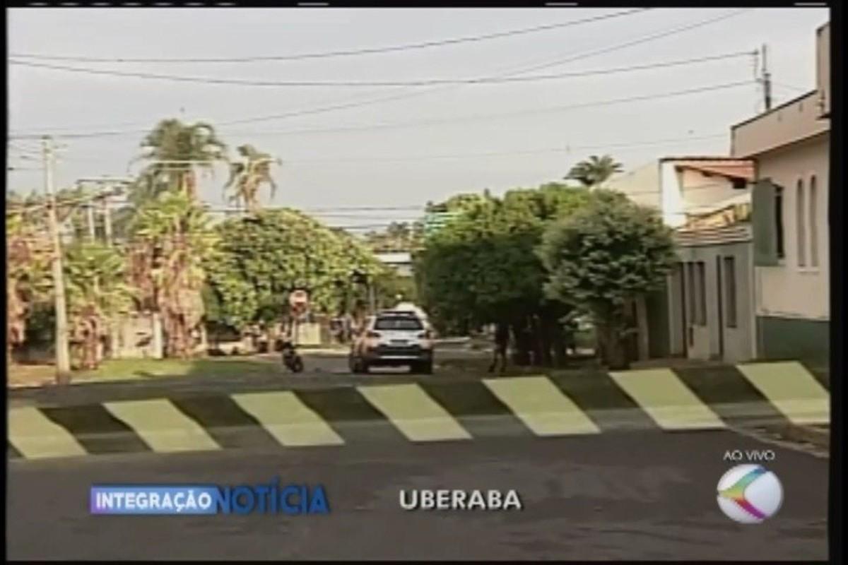 Grupo fortemente armado arromba empresa de valores em Uberaba e atira várias vezes para intimidar