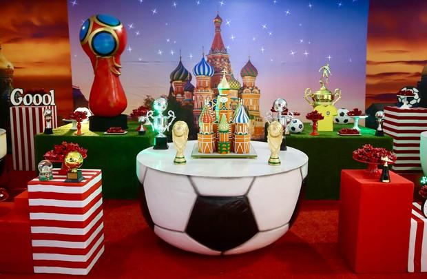 Detalhes da decoração do aniversário de Luca, filho de Kaká e Carol Celico (Foto: Manuela Scarpa/Brazil News)