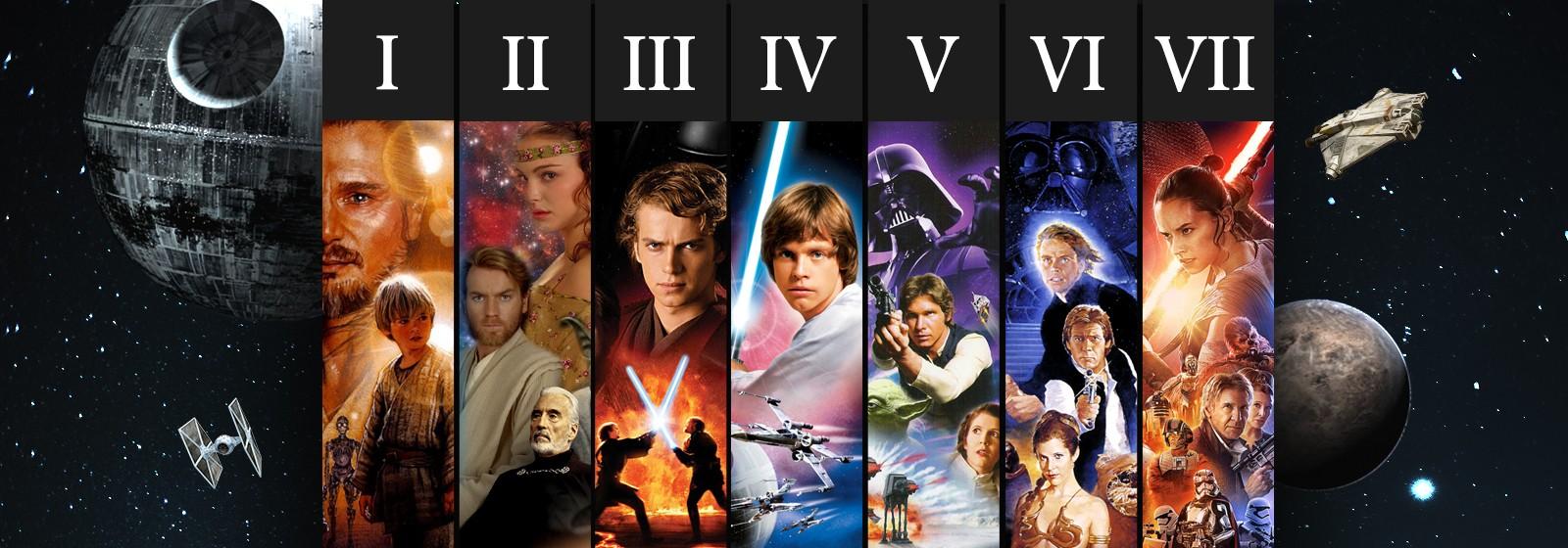 Saga Star Wars Completa
