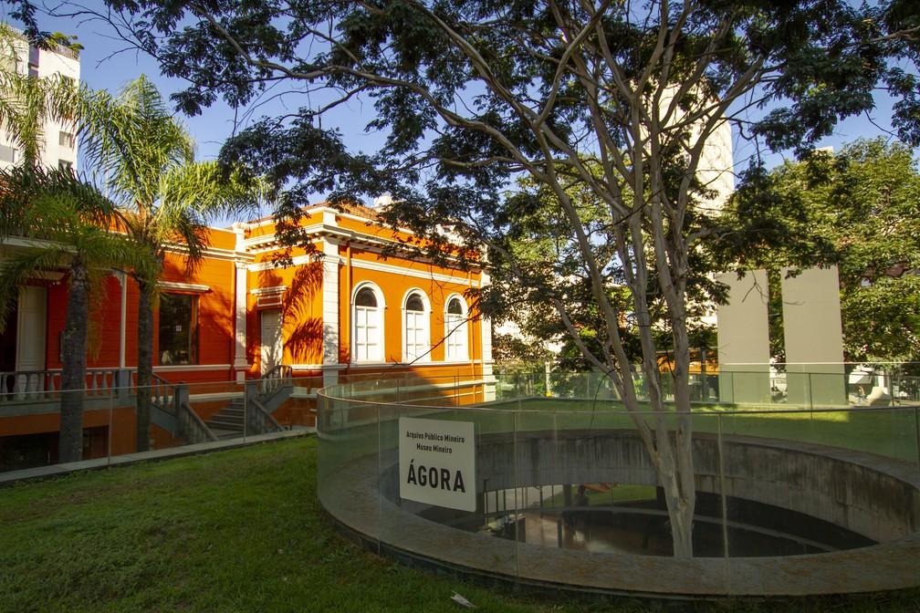 Museu Mineiro, na Região Centro-Sul de Belo Horizonte — Foto: Israel Crispim Jr/Acervo Secult/Divulgação