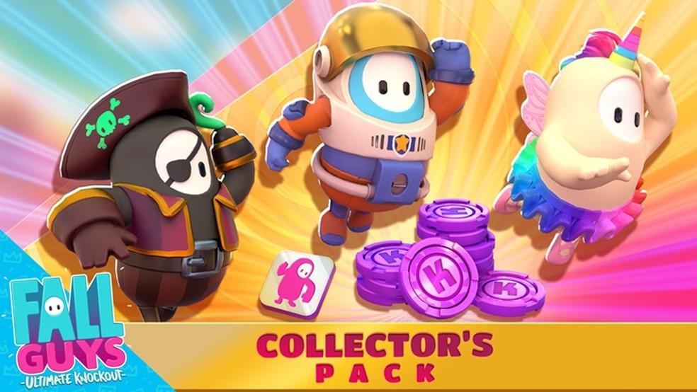 Jogadores podem comprar pacote de skins exclusivas com dinheiro de verdade — Foto: Divulgação/Fall Guys