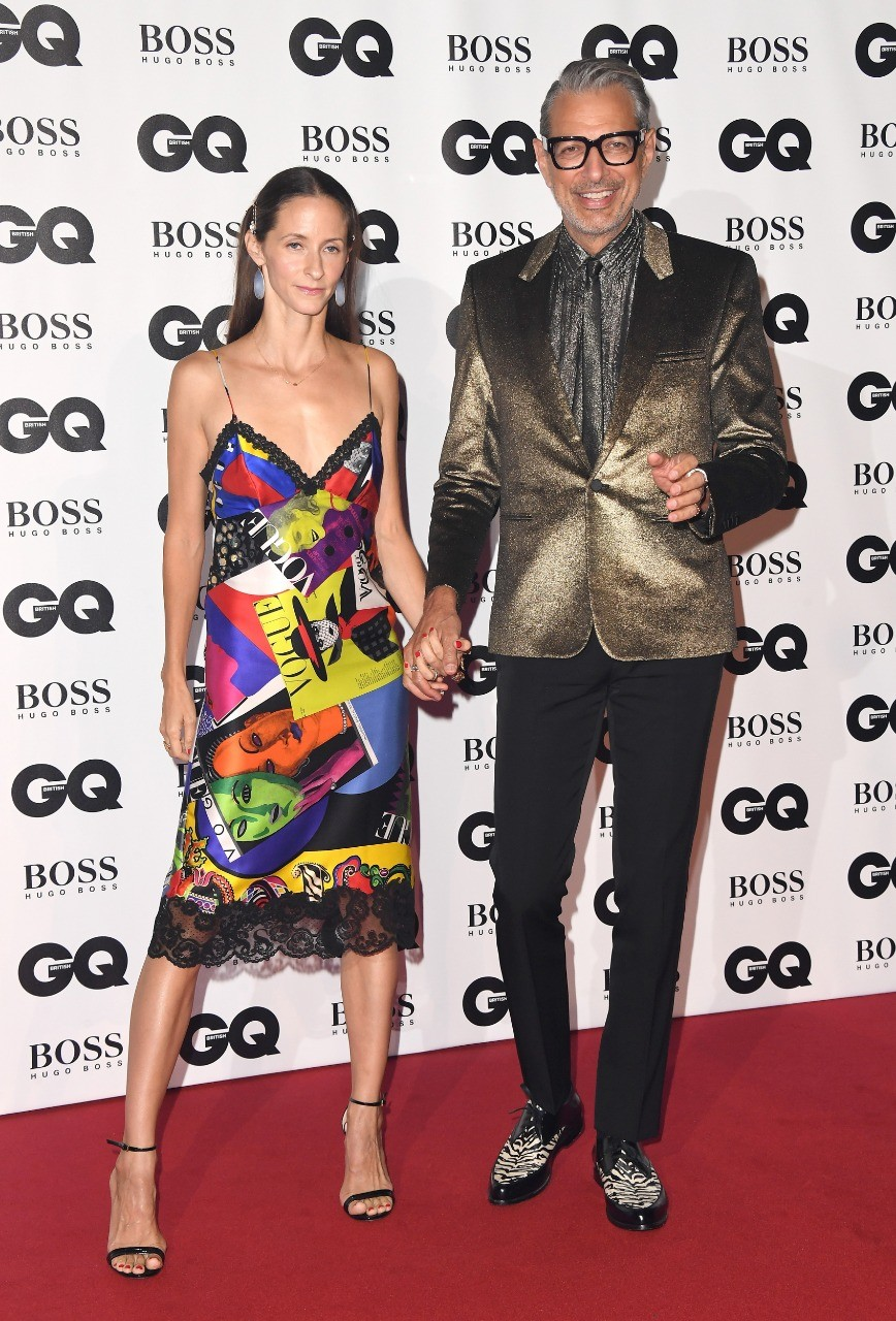 Emilie Livingston e Jeff Goldblum (Foto: getty images)