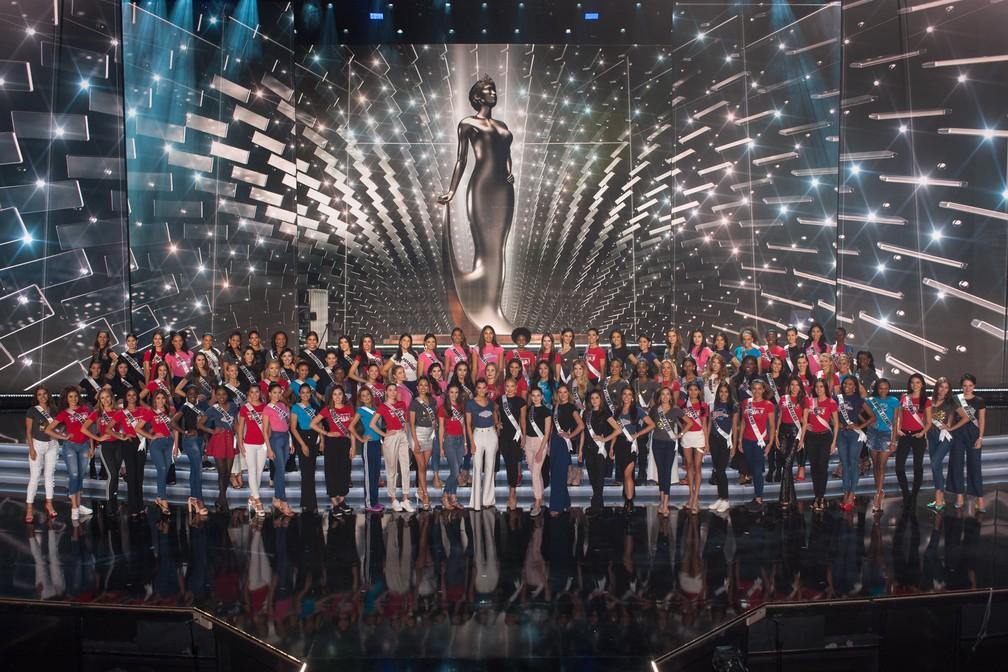 Decisão ocorre na noite deste domingo (26) em Las Vegas (Foto: Patrick Prather/Miss Universe Organization/AFP)