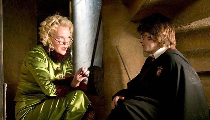 Miranda Richardson em cena de Harry Potter (Foto: Reprodução/instagram/Pottermore)