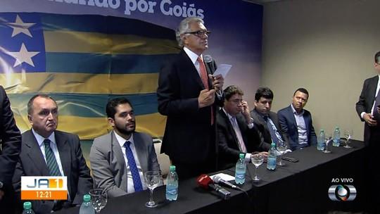 Governador eleito de Goiás, Ronaldo Caiado (DEM) anuncia nove integrantes de seu secretariado; veja nomes