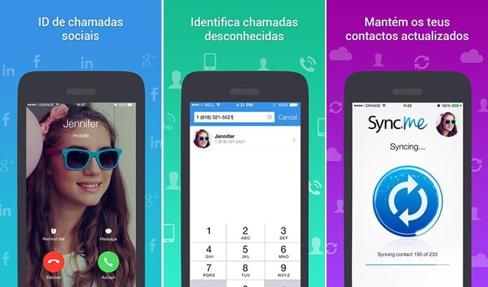 Sync.Me é um aplicativo para Android e iOS que sincroniza agenda com redes sociais (Foto: Divulgação/App Store)