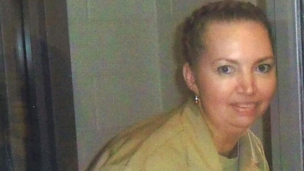 Lisa Montgomery será executada em 8 de dezembro — Foto: Reuters/BBC