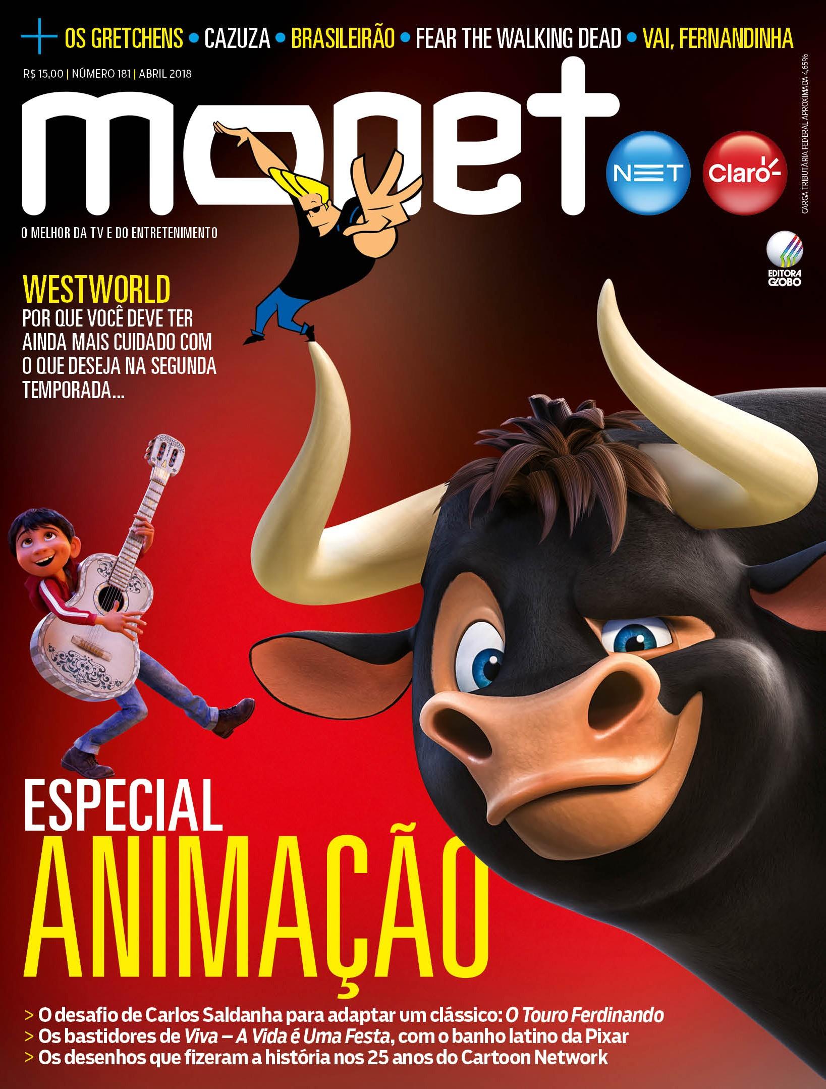 Revista Monet - Edição 181 - Abril/2018 (Foto: Revista Monet)