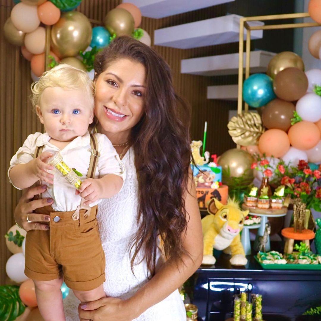 Bento, filho de Andressa Miranda e Thammy Miranda, ganha festa de 1 ano (Foto: Reprodução/Instagram)