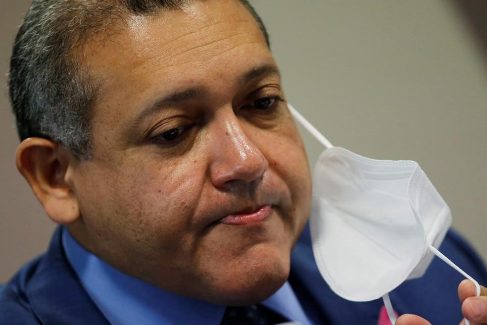 O ministro Nunes Marques, primeiro indicado por Bolsonaro ao STF — Foto: Adriano Machado/Reuters