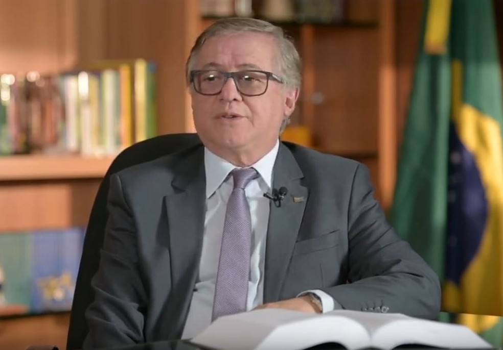 Ministro da Educação, Ricardo Vélez Rodriguez, em programa produzido pelo MEC — Foto: Reprodução/MEC