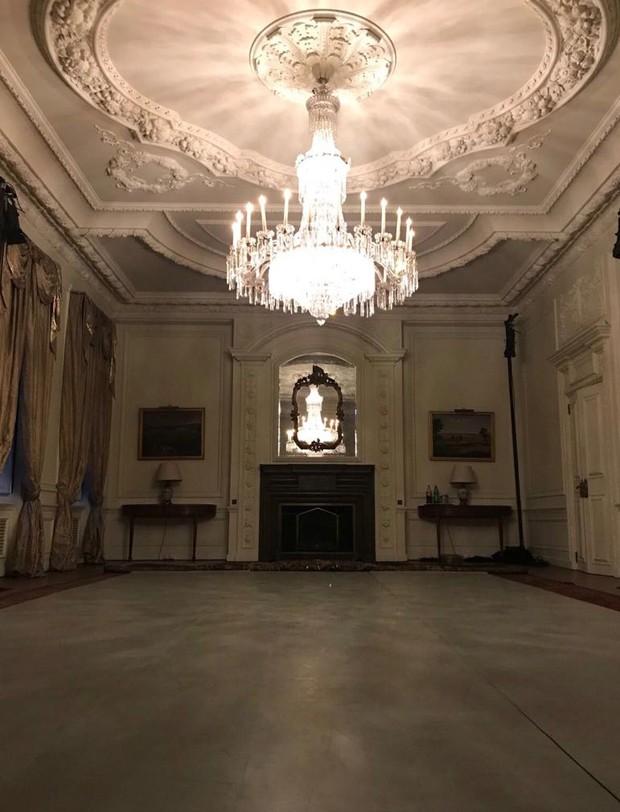 O salão onde Thiago Soares e Marcelo Bratke irão se apresentar em Londres (Foto: Divulgação)