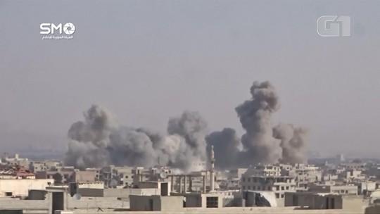 Bombardeios do governo sírio deixam mortos