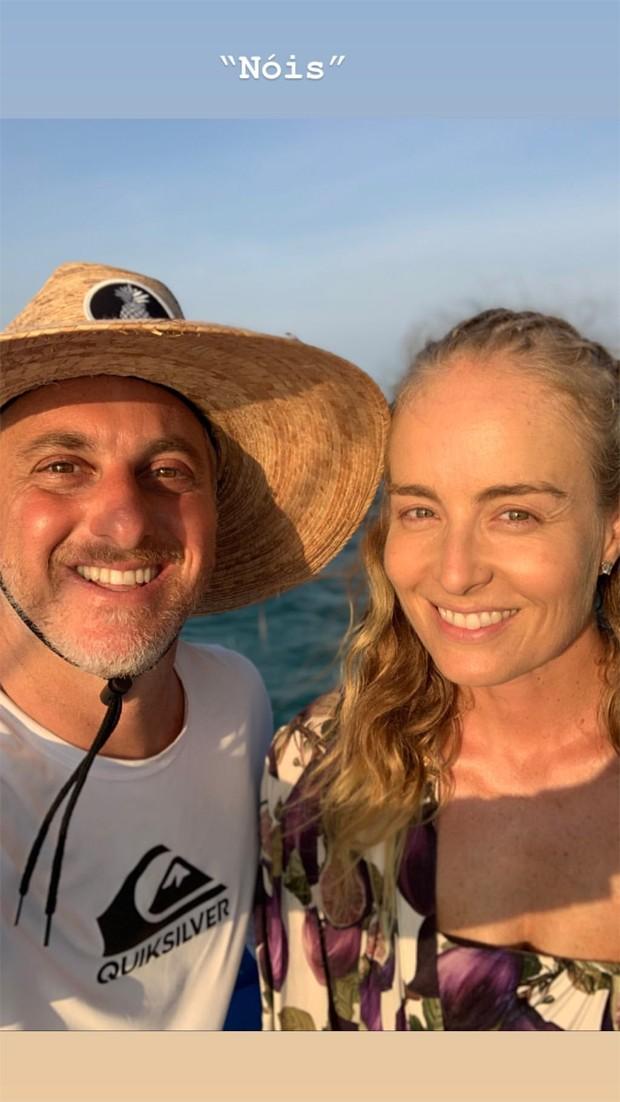 Luciano Huck e Angélica (Foto: Reprodução/Instagram)