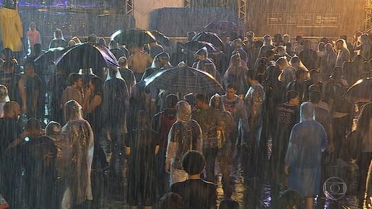 Show da banda Sepultura, que seria realizado em BH, é cancelado por causa da chuva