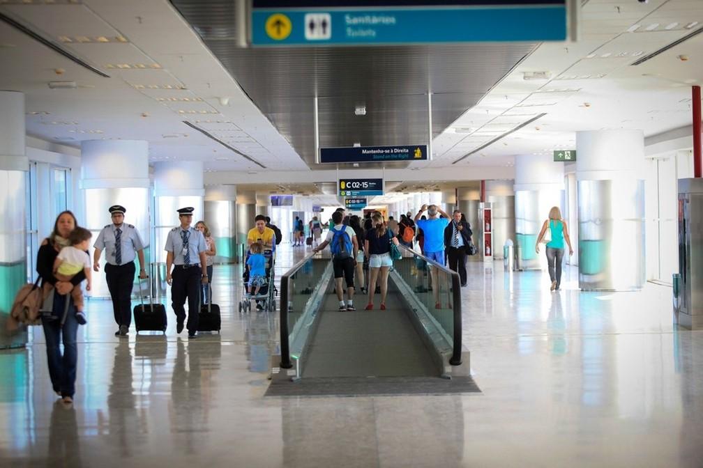 Fluxo de passageiros em Viracopos está aquém do projetado durante a concessão (Foto: Maurício Simionato/Viracopos)