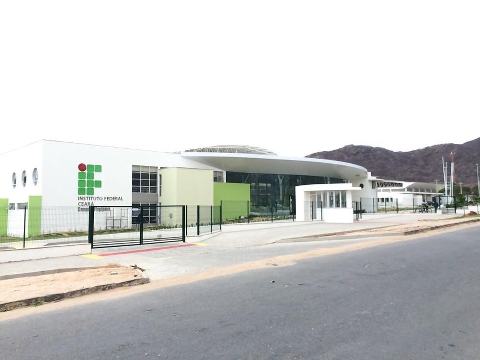 Campus do IFCE em Itapipoca. A seleção em Itapipoca é para Física Geral e Experimental. (Foto: IFCE/Divulgação)