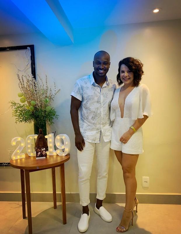 Thiaguinho e Fernanda Souza (Foto: Instagram/Reprodução)