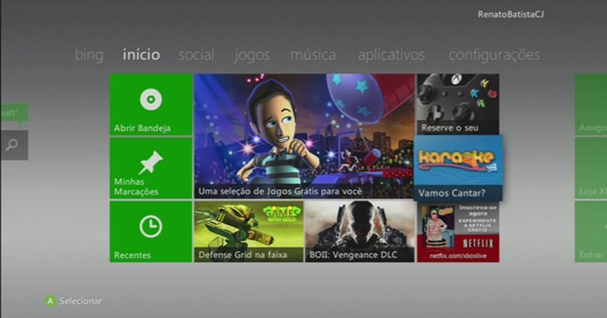 Xbox 360: como baixar os jogos gratuitos oferecidos na Live   Dicas e  Tutoriais   TechTudo