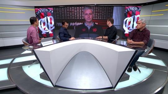 Tiago Nunes destaca evolução de Pablo e Raphael Veiga no Atlético Paranaense