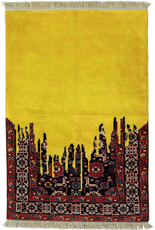 <em>Flood of Yellow Weigh</em>, 2007, de Faig Ahmed