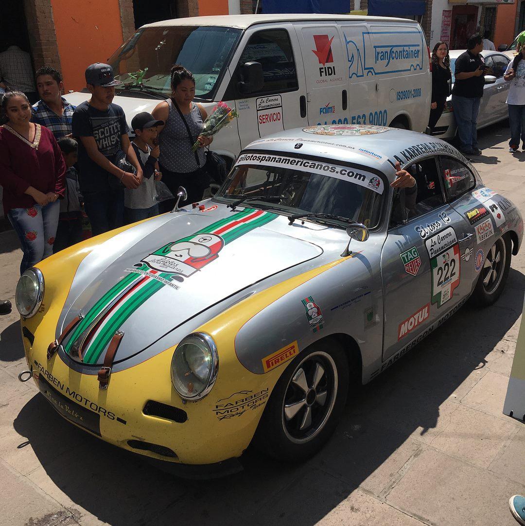 Porsche 356 #252 La Carrera Panamericana A (Foto: Divulgação/Benton Motorsport)
