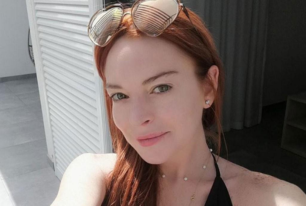 Lindsay Lohan ativou novamente seu Instagram (Foto: Reprodução/Instagram)
