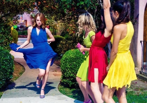 Emma Stone dança jazz em La La Land (Foto: Reprodução)