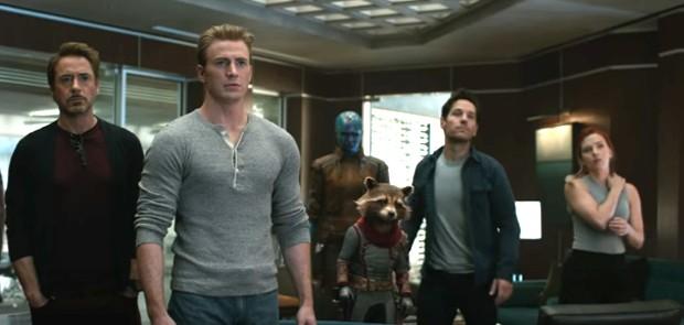 Cena do trailer de Vingadores Ultimato (Foto: Reprodução/YouTube)