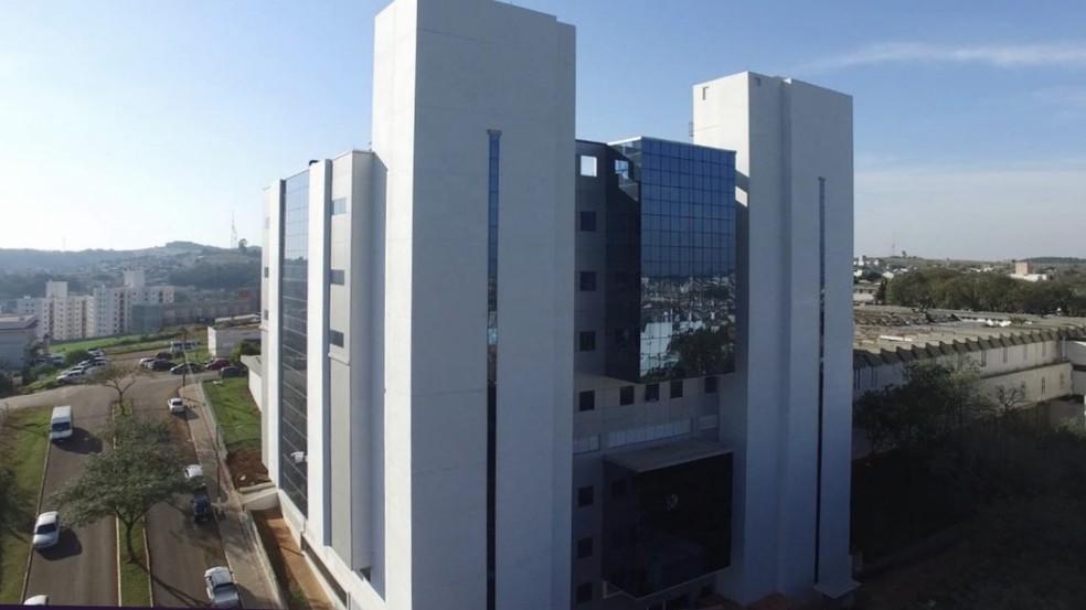 Hospital Regional do Oeste, em Chapecó — Foto: Prefeitura de Chapecó/Divulgação