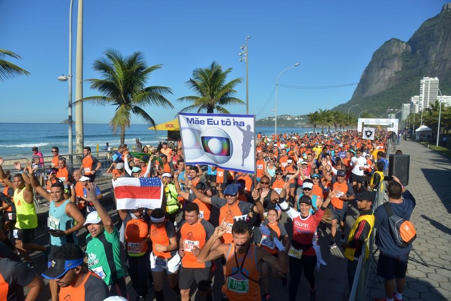 Dobradinha! Quenianos levam a melhor na Meia Maratona Internacional do Rio