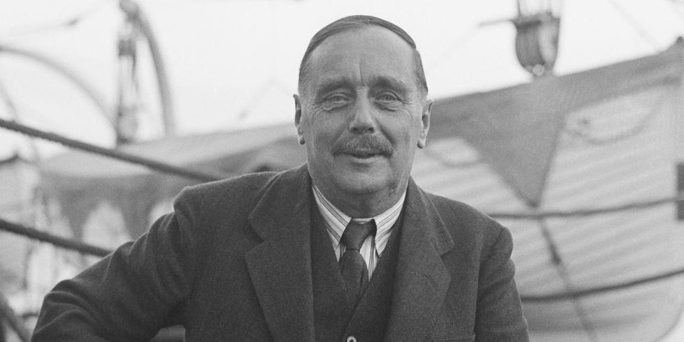Retrato do escritor H.G Wells (Foto: Divulgação)