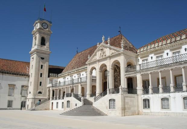 Universidade de Coimbra em portugal educação ensino (Foto: François Philipp/Wikicommons)