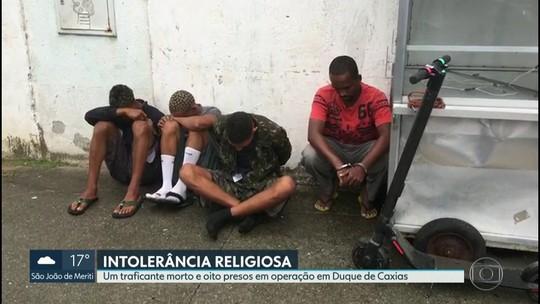 Um morto e oito presos em operação contra a intolerância religiosa em Duque de Caxias