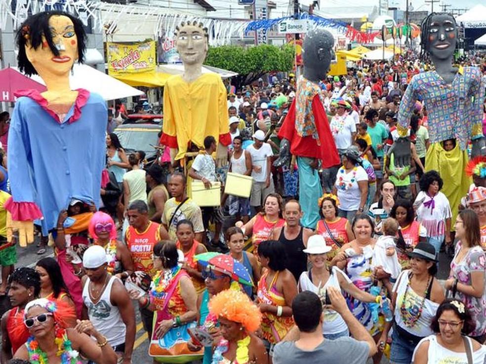 Bloquinho carnavalesco em Aracaju — Foto: André Moreira/Divulgação/PMA/Arquivo